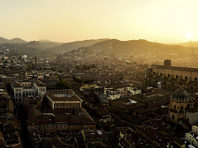 Panoramablick auf die Stadt Bologna. (Foto: Alexandros Papadopoulos)